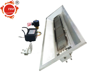 Big Power Automatic Workshop Natural Gas Propane Infrared Heater THD6808