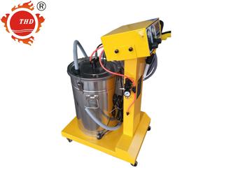 智能双显静电喷塑机喷粉机喷枪静电发生器THD004